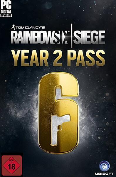 Tom Clancy's Rainbow Six Siege Year 2 Pass DLC UPLAY CD KEY GLOBAL
