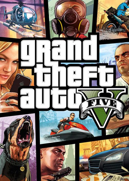 Grand Theft Auto V Rockstar Digital Download Key