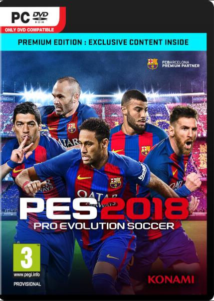 Pro Evolution Soccer 2018 Premium Edition Steam Key Global