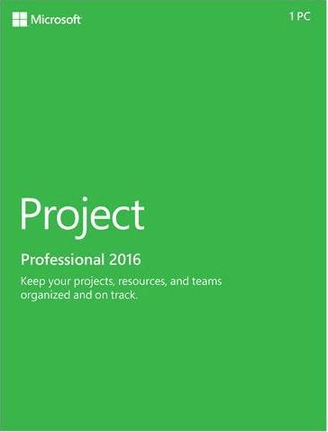 Project Professional 2016 Key Global