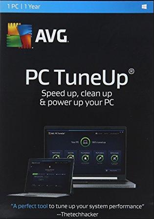 AVG TuneUp 2017 1 PC 1 YEAR Global