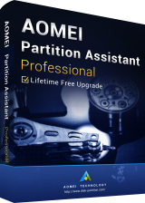 Official AOMEI Partition Assistant Professional + Free Lifetime Upgrades 8.8 Edition Key Global