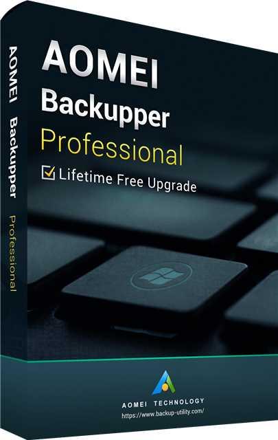 AOMEI Backupper Professional + Free Lifetime Upgrades 5.7 Key Global