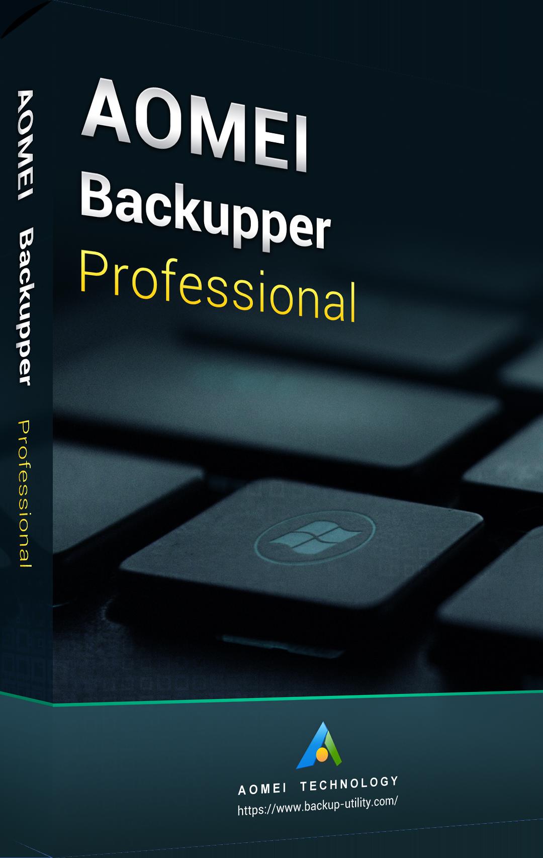 AOMEI Backupper Professional Edition Key Global