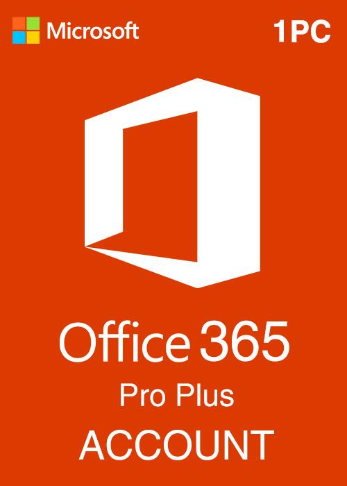 Microsoft Office 365 Account Global 1 Device