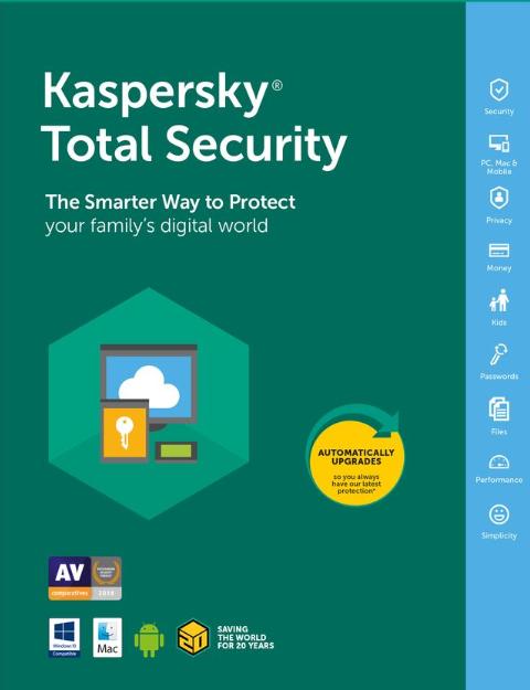 Kaspersky Total Security 1 PC 1 Year Key Global