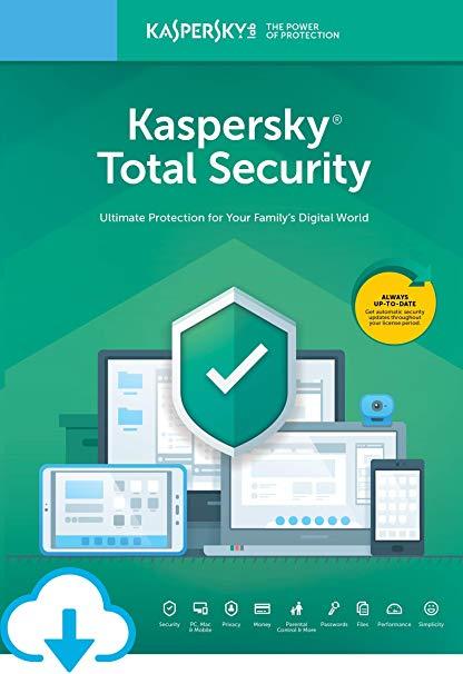 Kaspersky Total Security 3 PC 1 Year Key Global