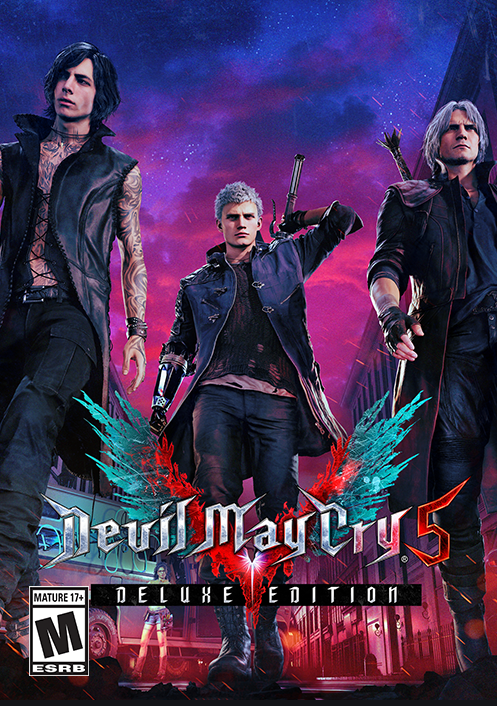Devil May Cry 5 Deluxe Edition Steam Key Global