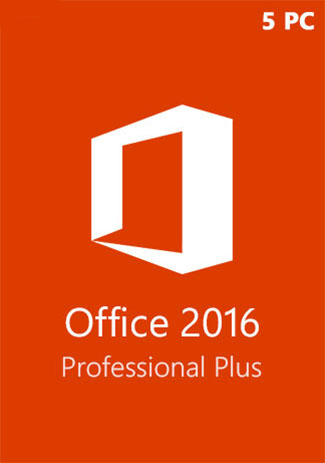 Office2016ProfessionalPlusCDKeyGlobal(5PC)