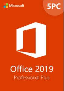 Office2019ProfessionalPlusCDKeyGlobal(5PC)